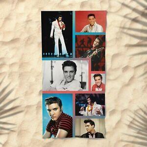 Elvis Presley Towel Beach Collage Summer Bath Pool Gym