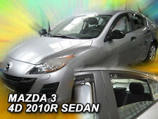 DMA23153 Mazda 3 Series 4 puerta Saloon 2009-2012 viento desviadores 4pc Heko Teñido