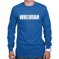 Whovian Funny Gift Dr Who TARDIS Cute Cool Edgy Sarcastic Gym Long Sleeve Tee