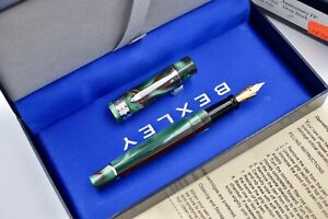BEXLEY 10th Anniversary Fountain Pen Lime 4302 Overstock Steel Nib Made in USA