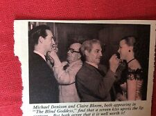 m2v ephemera 1950s film picture michael denison clairebloom make up