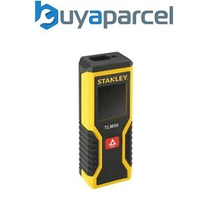 Stanley TLM 50 15m True Laser Distance Measurer TLM50 STHT1-77409 INT177409