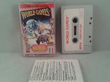 C64 COMMODORE 64/128 WORLD GAMES