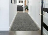 Soft Shaggy Rugs Hallway Rug Runner Non Slip 30mm Thickness, 60x120cm-Plain