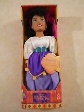 """Disney Hunchback of Notre Dame Esmeralda Doll 1995 Plush W/ Vinyl Head VTG 15"""""""