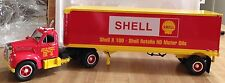 First Gear 1/34 scale Shell Oil Tractor Trailer 1960 Mack Model B-61