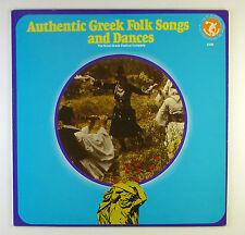 "12"" LP-the royal Greek Festival Company-Authentic Greek folk songs-b4013"