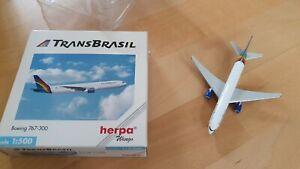 herpa Wings Boeing 737-300 TransBrasil 512275