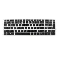 Silicone Keyboard Skin Cover Guard Film Protector for HP Pavilion 15inch