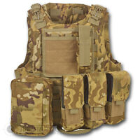 MTP  MULTICAM FIRST AID MEDICS ASSAULT VEST BRITISH ARMY STYLE MILITARY