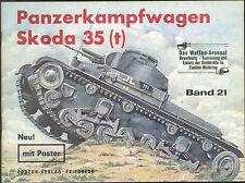 Waffen-Arsenal Band 21 Panzerkampfwagen Skoda 35 (t) mit Poster