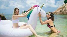 Giant Inflatable Unicorn Pool Float Floatie Ride On Fast Valves Large 8.7 feet