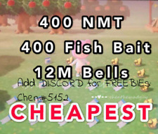 💰Nook Miles Ticket, Bells, Gold, Nmt, Fish Bait, Star Frags 💰 Fast N Cheapest