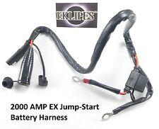 12 Volt 2000 AMP Battery Harness Jumper 2 Feet BMW Female Plug Waterproof Caps