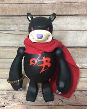"Touma Black Guardian 8"" Knuckle Bear 2004 Tower Records Edition Vinyl Toy Kaiju"