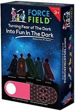 Force Field Pink Flower Glow in The Dark Blanket Fleece Throw,Glows 8+ Hours