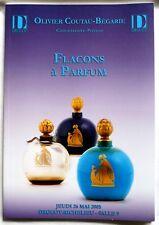 """CATALOGUE DE VENTE """"FLACONS A PARFUM"""" ANCIENS / MAI 2005 / COLLECTION"""