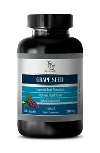 grape seed capsules - GRAPE SEED EXTRACT 100mg - plant polyphenols 1B
