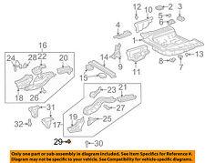 TOYOTA OEM 00-05 Echo Floor-REAR BODY-Side Rail Assembly Plug 9095001550