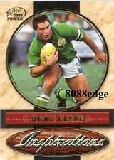 2005 SELECT POWER NRL INSPIRATIONS #I5: BRAD CLYDE #35/175 CANBERRA RAIDERS