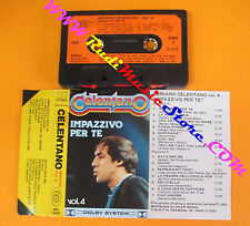 MC ADRIANO CELENTANO Impazzivo per te vol. 4 1983 italy JOKER no cd lp dvd vhs