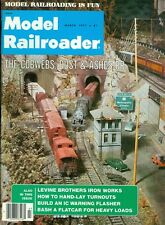1977 Model Railroader Magazine: The Cobwebs, Dust & Ashess RR./Levine Brothers