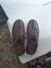 CLARKS shoes men's Oxford brown size 12 M