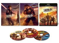 New Solo A Star Wars Story First Limited Edition Blu-ray DVD MovieNEX Japan