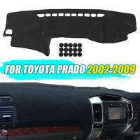 Dashmat Dashboard Dash Board Mat Sun Cover Carpet Pad For Toyota Prado 2002-2009