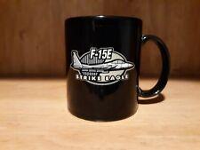 F-15E Strike Eagle Boeing Mug Black With Logo Used