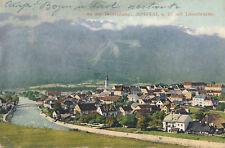 AK aus Spittal a. D. mit Lieserbrücke, an der Tauernbahn, Kärnten   (G22)