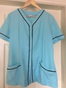 Dimensions Women's Beauty Therapy Nursery Nurses/Carer Light blue Tunic Size 14