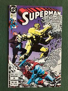 Superman #40  DC Copper Age Clark Kent Kryptonite Krypton vf/nm