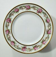 Limoges M Redon France dinner plate rosses and gold sold by piece (1)