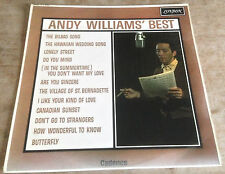 ANDY WILLIAMS andy williams' best 1962 UK LONDON MONO LP