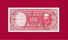 GEM-UNC 100 Pesos 1961 CHILE BANKNOTE: 10 Centesimos De Escudo - OVERPRINT P-127