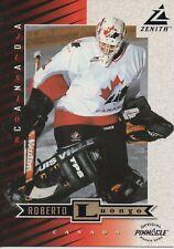 1997-98 ZENITH - ROBERTO LUONGO 5 x 7 ROOKIE CARD