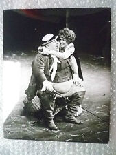 Theatre Actors Real Press Photo- Casting Scene from 1968 TWELFTH NIGHT Drama
