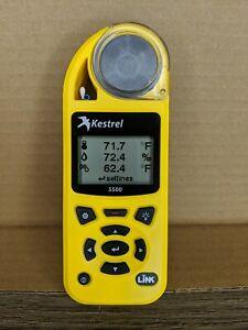 Kestrel 5500 Weather Meter, Yellow
