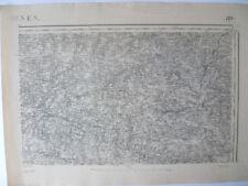 Carte d'État-Major Vannes Nord-Est 1887