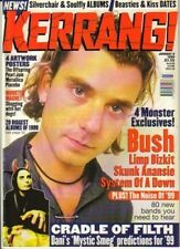Gavin Rossdale of Bush on Kerrang Cover 1999   Metallica   Pearl Jam   Placebo