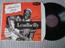 LEADBELLY classics in jazz LP 33T Blues france 1982 EX / EX