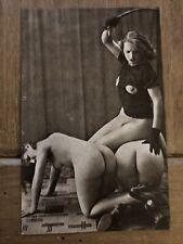 CPA Nu Erotisme Réédition Stampa Femme
