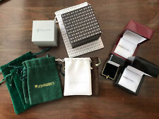 Lot Of Jewelry Pouches And Ring Boxes