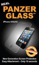 New Genuine PanzerGlass 1010 Apple iPhone 5 5S 5C Glass Screen Protector Guard
