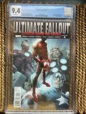 Ultimate Fallout #4 - CGC 9.4 1st App Spider-Man (Miles Morales)