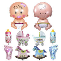 5Pcs Baby Shower Foil Christening Balloons Decor Kids Party Supply Gift JT