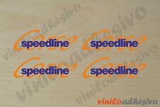 PEGATINA STICKER VINILO Speedline Corse ref2 multicolor autocollant aufkleber
