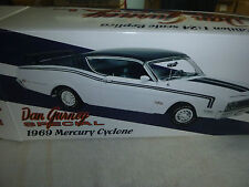 *** SPECIAL 1969 MERCURY CYCLONE S/N 828 GMP 1/24 DIE CAST