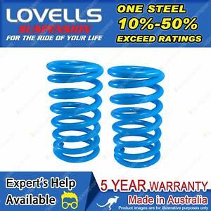 Lovells Front STD Coil Springs for Toyota Corona RT104 118 Sedan Wagon 74-79